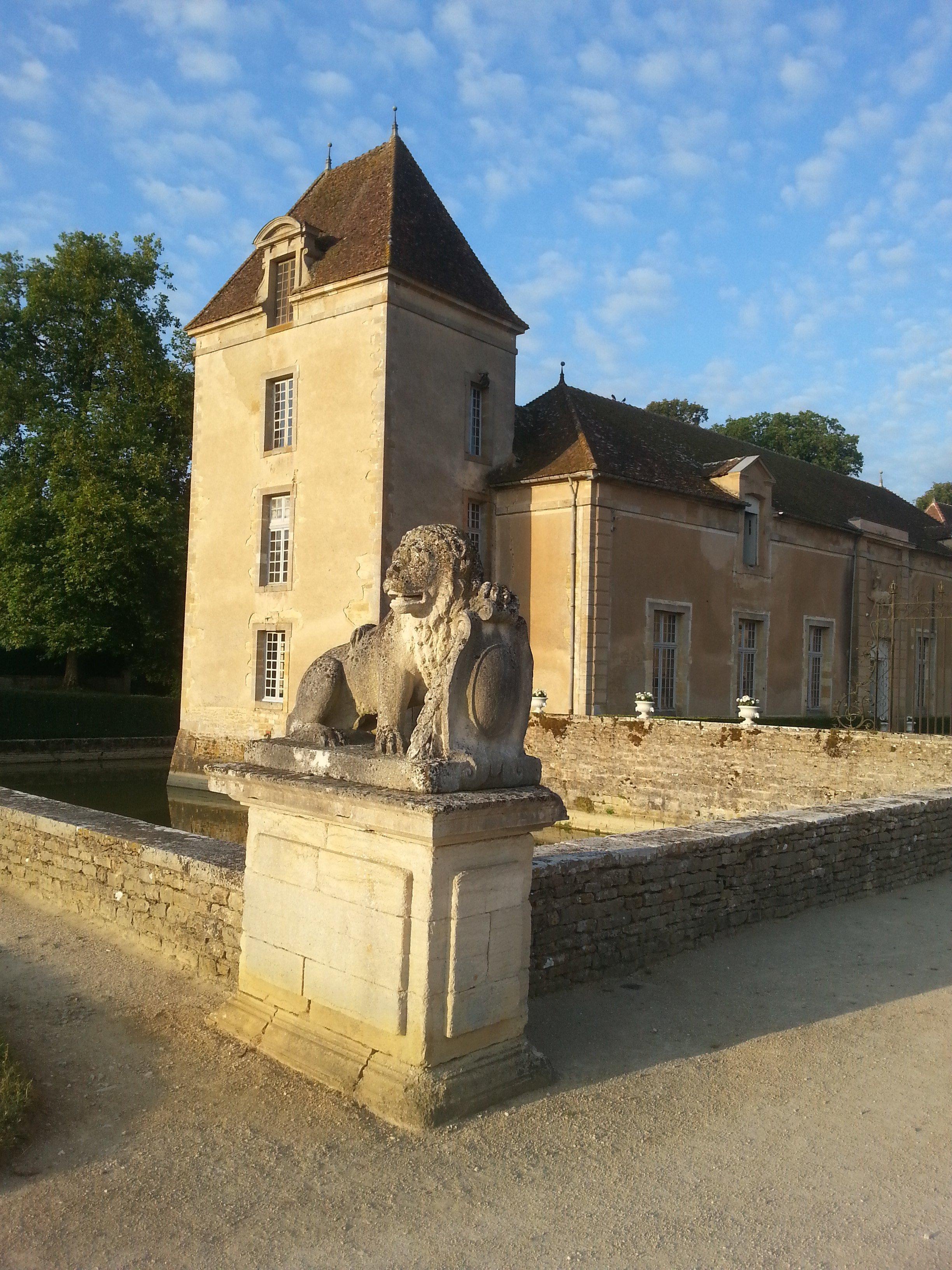 17 me et 18 me si cle ch teau de commarin - Chateau du 18eme siecle ...